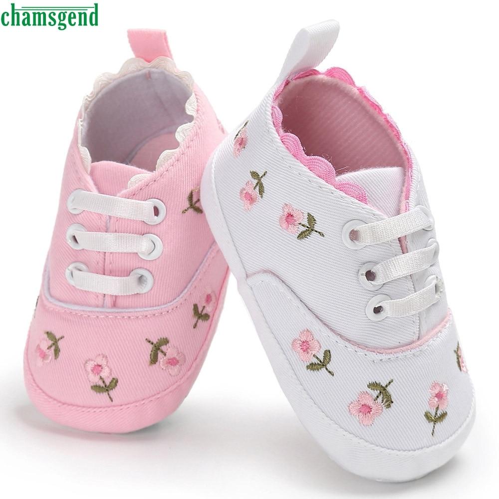CHAMSGEND Νεογέννητα Βρεφικά Κορίτσια Βρεφικά Αντρικά Παπούτσια ... 159dd3506a4