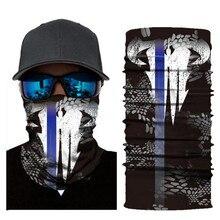 Biker Bandanas (5 pcs/lot) AC232-AC234 Outdoor Hat Cycling Turban Head Scarf Sports Face Mask