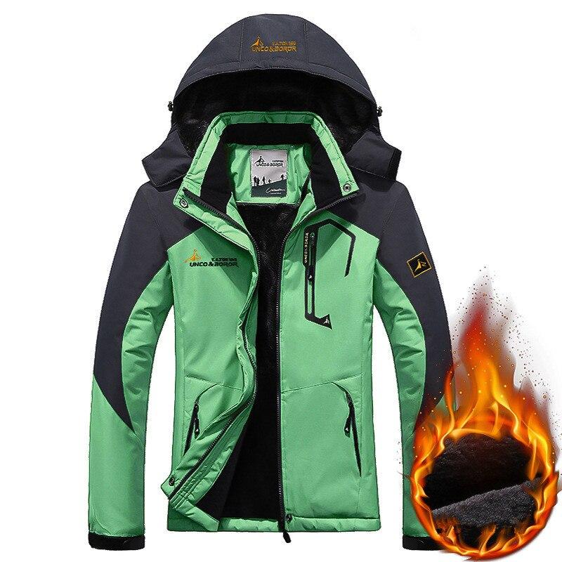 2019 Winter Snow Jacket Women Thick Warm   Parkas   Thermal Hooded Coats Waterproof Windproof Tourism Fleece Jackets Female Outwear