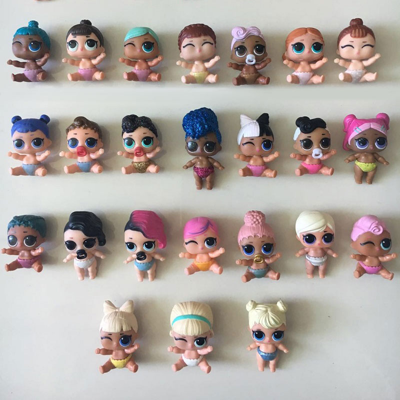 5-20Pcs Original baby sister doll Kid Girls dress up LOL little sister dolls Good Gifts For Children High Quality 20pcs rtl8111c good prices and quality