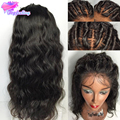 Cheap Brazilian Full Lace Human Hair Wigs For Black Women Glueless Lace Front Human Hair Wigs 7A Virgin Hair Full Lace Front Wig