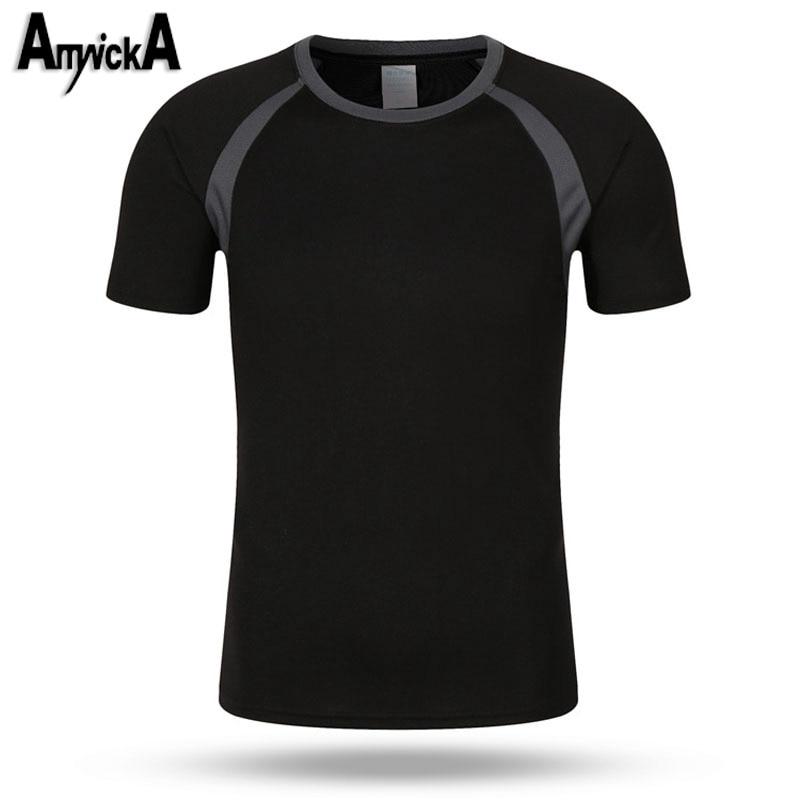 Prix pour Randonnée t-Shirt Hommes D'été À Séchage Rapide Respirant Camping Escalade De Pêche Fitness Gym Sport En Plein Air t-shirt Mâle A69