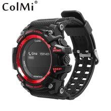 Relógio Inteligente T1 COLMI Esporte Homens SmartWatch Pedômetro À Prova D' Água Chamada Lembrete Digital Devices Wearable para ios Android Phone