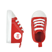 Baby Shoes Spring And Autumn Aliexpress Explosion Models Lace-up Canvas  Toddler Shoes Soft Bottom fadfb5bd61c1