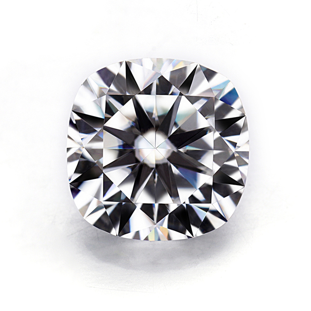 Us 512 0 Top Quality Cushion Brilliant Cut 10x10mm Ef Color Lab Grown Moissanites Diamonds For Jewelry Ring In Loose Diamonds Gemstones From