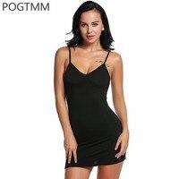 Women Sexy Night Dress V Neck Sleeveless Shirt Women S Night Strap Sleepwear Solid Slip Nightgown