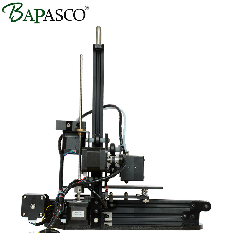 3D Printer Kits Bapasco X3 prusa I3 Aluminium Extrusion 3D Printing kits impresora 3d 1KG PLA Filament 8GB SD card LCD As Gifts 55ml aluminium sub tank printer part