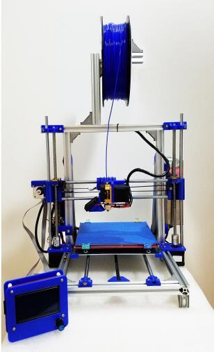 3D принтер точность i3 алюминиевый diy домашний комплект 3d принтер с подогревом, может модифицировать для лазерной гравировки