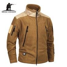 Megeブランド服戦術軍ミリタリー服フリース男性のジャケットとコート、防風暖かいmilitarジャケット冬