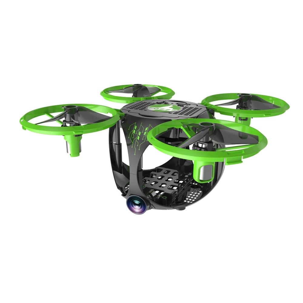 FQ26 WiFi FPV Mini Drone Quadrocopter with Camera 0.3MP Altitude Hold G-sensor Foldable Dron Quadrupter APP Phone Control RTF (8)