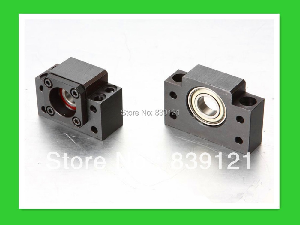 Ballscrew support Unit BKBF20 one set take angle bearing fixed side rectangular type fixed support l
