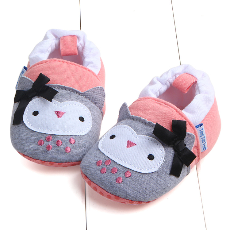 First Walkers Baby Shoes Cotton Anti-slip Booties Baby Girl Boy Shoes Animal Cartoon Newborn Slippers Footwear Booties Kids Gifts (3)