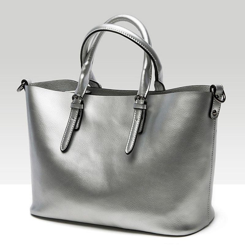 ФОТО 2017 New Europe Style Women Bag handbags Luxury Pearlescent Skin Shoulder Bag Genuine Cow Leather Messenger Bag Brand Designer