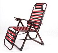 Многофункциональный Открытый здоровый шезлонг Творческий лежащего складной резинкой стул дышащая пляжная эластичные полосы стул