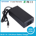 DC 58.8V 1A 1.5A Lithium Li-ion Battery Charger For 14S 48V Lipo Battery