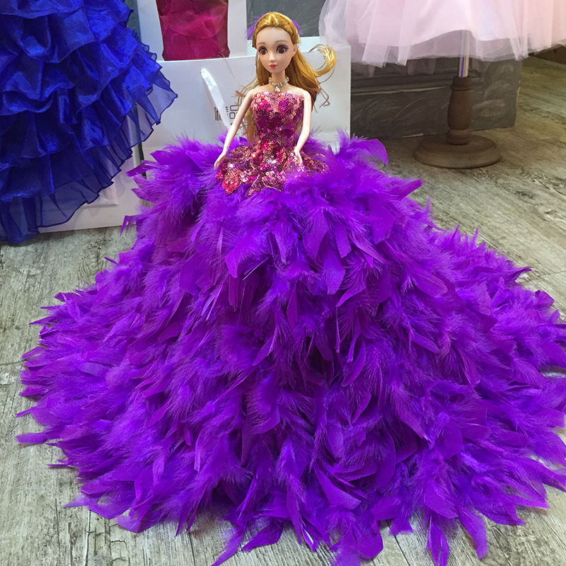 Excelente Vestido De Plumas De Pavo Real Del Baile Galería - Ideas ...