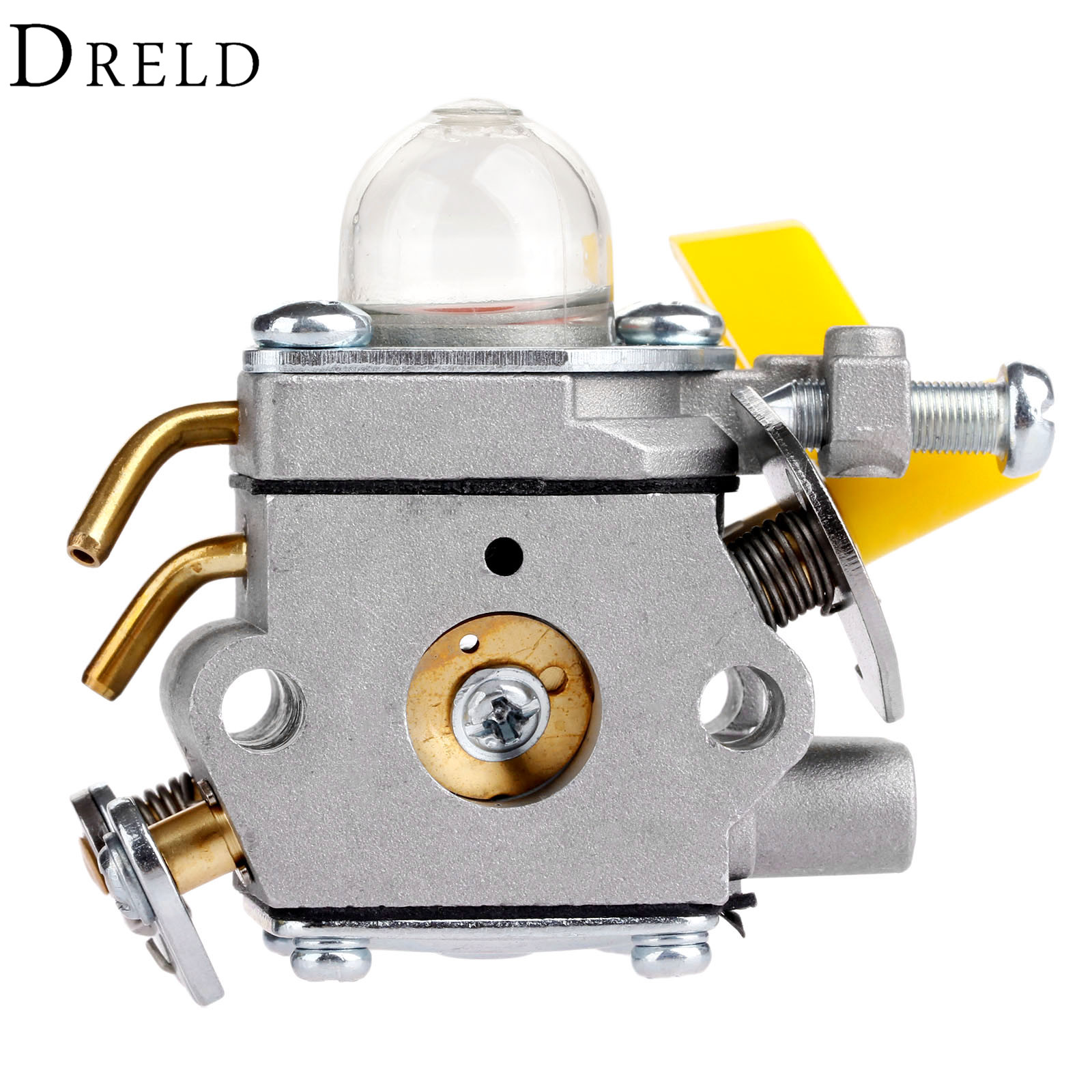 DRELD Carburetor Carb for HOMELITE RYOBI 25cc 26cc Line String Trimmer Backpack Blower Chainsaw Spare Parts Garden Tools Parts carburetor rebuild c1u carb kit zama rb 29 for homelite ryobi blower trimmer spare parts rb 29