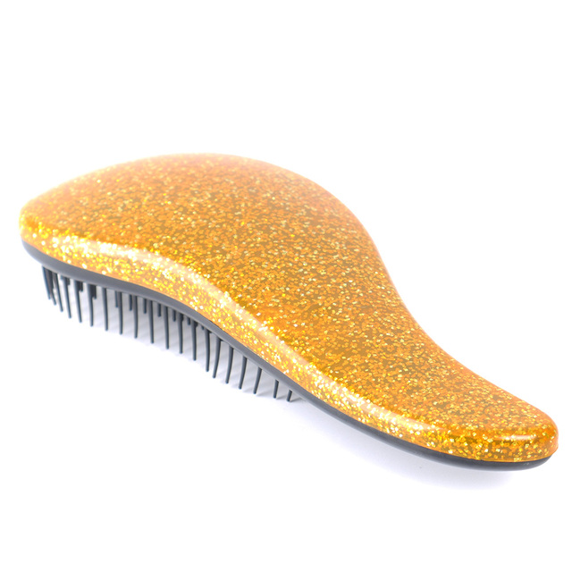 1pc Glitter Magic Handle Tangle Detangling Comb for Hair Shower Hair Brush Salon Styling Tamer Tool Travel Accessories Comb 6