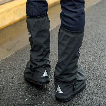 Männer/Frauen Motorrad Radfahren Regen Schuhe Abdeckungen Wasserdichte Fahrrad Dicker Scootor Rutschfeste Boot Überschuhe Regendicht Boot Reusable