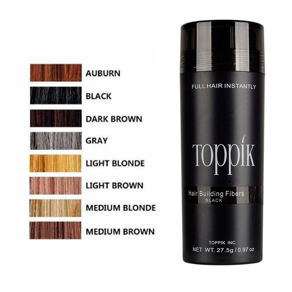 27.5g Salon Beauty Products Hair Growth Powder Hair Building Fibers Keratin Hair Loss Hair Concealer 9 Colors TSLM2