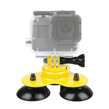 Low Angle Car Surfboard Suction Cup Mount For GoPro HERO 7 6 5 4 Hero7 Hero5 SJCAM Yi 4K Eken H9 Camera Surfing Accessory