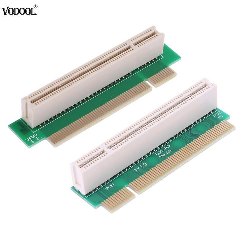 PCI Male To Female 32Bit 90 Degree Right Angled Riser Extension Card Adapter For 1U IPC Chassis 90 Degree Righ PCI Chassis