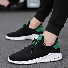 WENYUJH 2019 Casual Men Shoes Summer Sneaker Breathable Casual Mesh Shoes Trend Korean Shoes Men Sweat-Absorbant