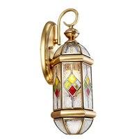 Arandela де Parede Медь бра огни toolery Винтаж для дома Гостиная дома Освещение LED Бра Крытый лампы
