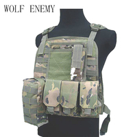 Waterproof USMC Ciras Tactical Vest colete Airsoft Tactical Military Molle Soft Body Armor Plates Carrier Vest Military Uniform