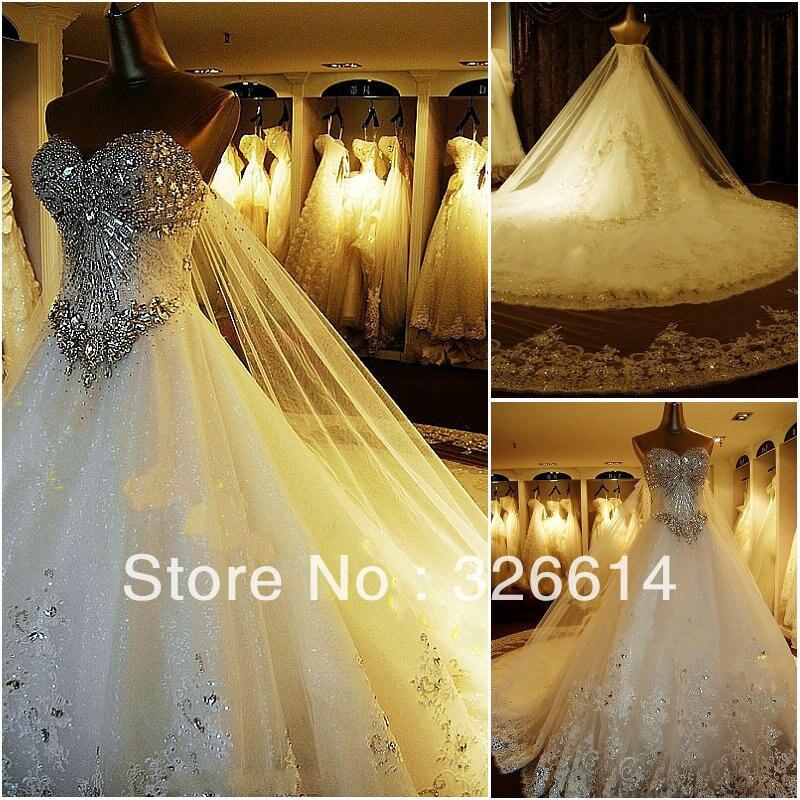 Aliexpress.com : Buy 2013 High Quality Luxury Crystal Wedding ...
