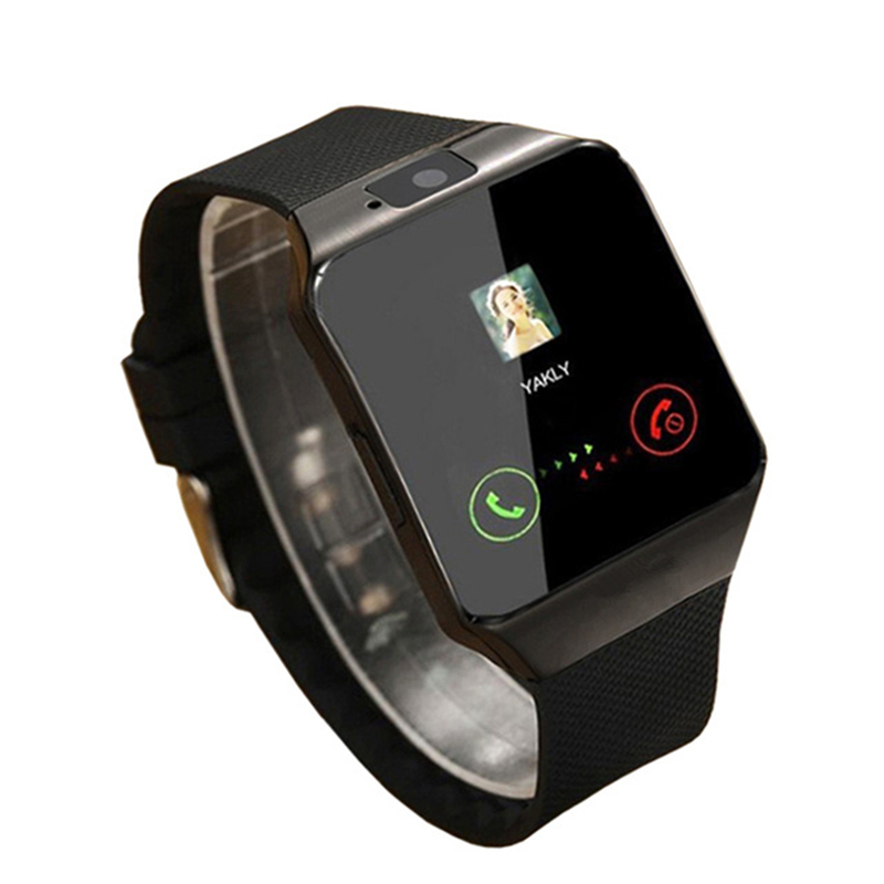 Nova moda bluetooth relógio inteligente dz09 smartwatch apoio sim tf cartão câmera para iphone samsung huawei xiaomi telefone android