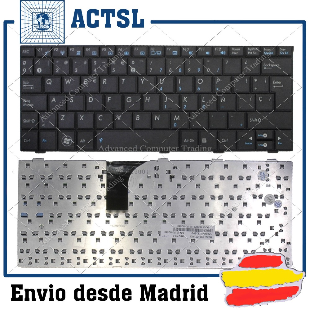 New notebook Laptop keyboard for  ASUS EEE PC 1005HA SP  layout new original for asus epc 1005ha 1001ha 1002 1008ha traditional keyboard