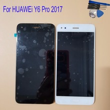 5.0 For Huawei Y6 Pro 2017 SLA-L02 SLA-L22 SLA-TL0 LCD Display Touch Screen Digitizer Assembly With Frame