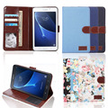 Luxury funda Tab A 7.0 SM-T280 T285 smart cover case-ultra slim stand leather case cover for samsung galaxy tab a 7.0 tablet