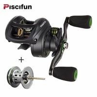 Piscifun Phantom Spool Carbon Fiber Ultralight 162g Baitcasting Reel Dual Brake 7 7kg Max Drag 7