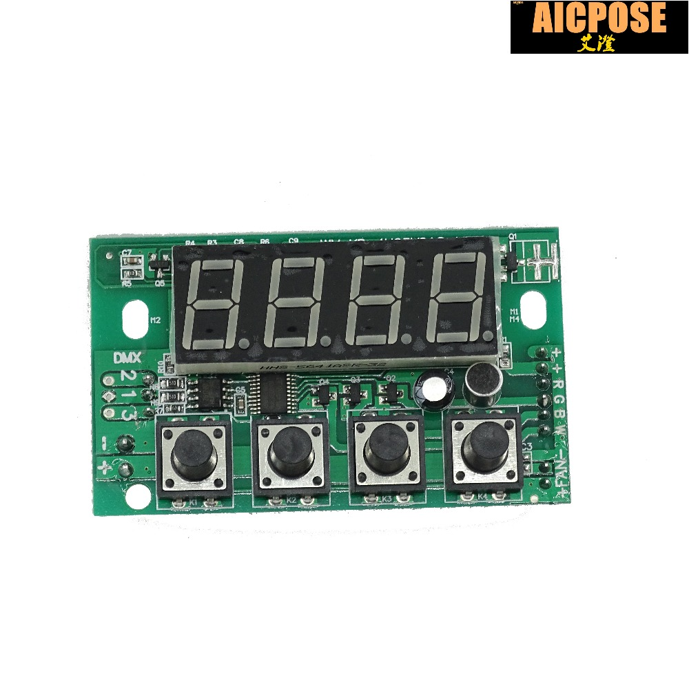 RGBW DC 12-36V Constant Pressure Motherboard, 54X3W / 36x3w LED PAR Motherboard, 4 / 8CH Professional Stage Light Accessor