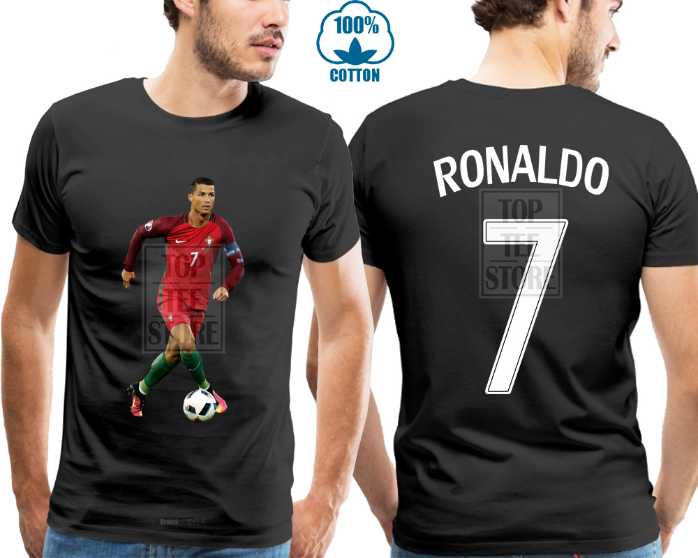 official photos aa1d8 ca90a Ronaldo Jersey Style T Shirt Kids Cristiano Ronaldo Jersey Portugal T Shirt  Round Neck