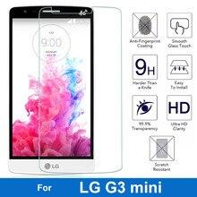 Для LG G3 мини D722 D725 D728 D724 G3 Бить G3mini взрывозащищенные Закаленное Стекло-Экран Протектор 0.26 ММ 2.5D Защитная Пленка