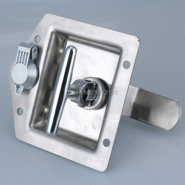 Free Shipping Lock Door Hardware Distribution Box Electric Cabinet Lock  Fire Box Pull Industrial Equipment Door