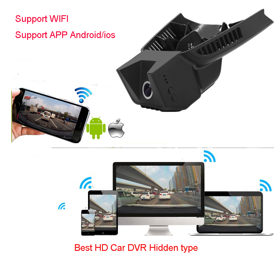 Car Dash Cam DVR Video Recorder blackbox for Mercedes Benz C W204 low  spec(Year 2008-2014) black color