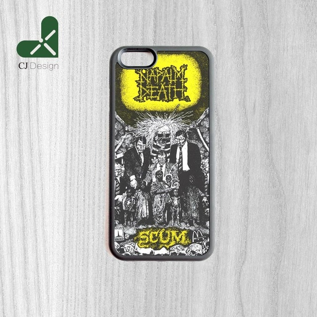 super popular 54c8b 9077c US $4.99 |1pcs NAPALM DEATH Scum DIY Printing Pattern Custom Made  Smartphone Mobile Protective Case For iPhone 6 6s And 4s 5s 5c 6 Plus-in ...