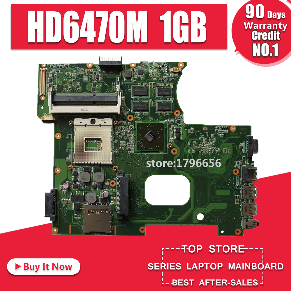 K42JY Motherboard HD6470M 1GB REV:4.1 For ASUS X42J A42J K42JR Laptop Motherboard K42JY Mainboard K42JY Motherboard Test 100% Ok