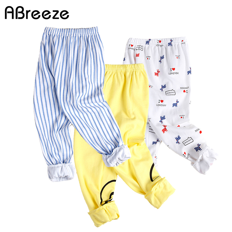 Print Pattern Cotton Baby Trousers candy Babys Boys Girls Pants For Baby Pyjamas Pants Kids For Newborn Girl Boy legging(China)
