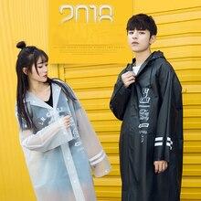 Korean Long Raincoat Poncho Outdoor Cape Rain Coat Women Windbreaker Ladies Coats Feminino Waterproof 50KO199