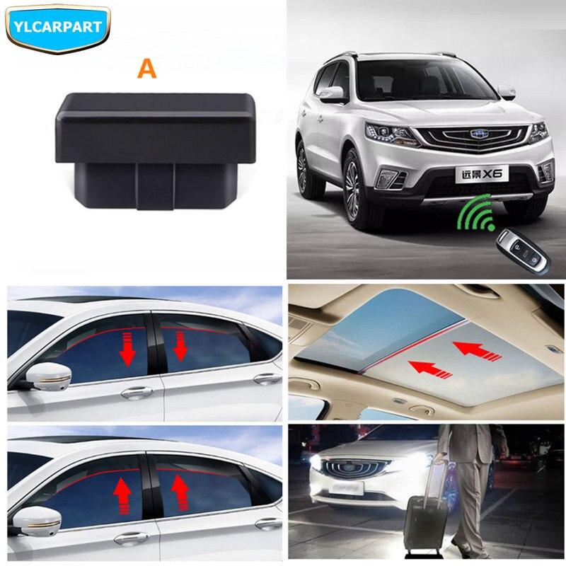 Pour Geely Emgrand X7 Sports, FC SUV, Vision X6, NL4, contrôleur de fenêtre OBD de voiture