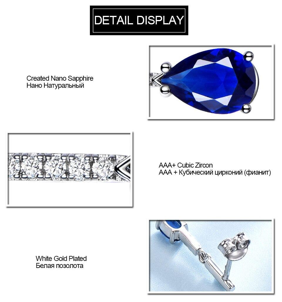 Honyy-solid sterling silver earrings for women EUJ068S-1 (12)