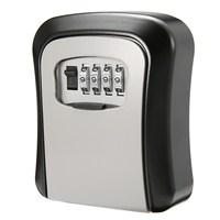 NEW 4 Digit Combination Password Key Box Lock Safety Organizer Padlock Wall Mounted Home Security Safety