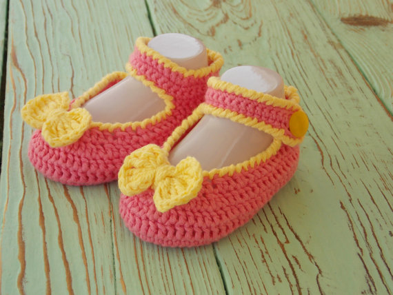 Crochet Baby Girl Shoes Booties Clothing Baby Infant Girl Shoes