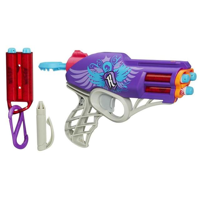 Image is loading NERF-Gun-Rebelle-Secret-Shot-Blaster-Diamondista-Bow-