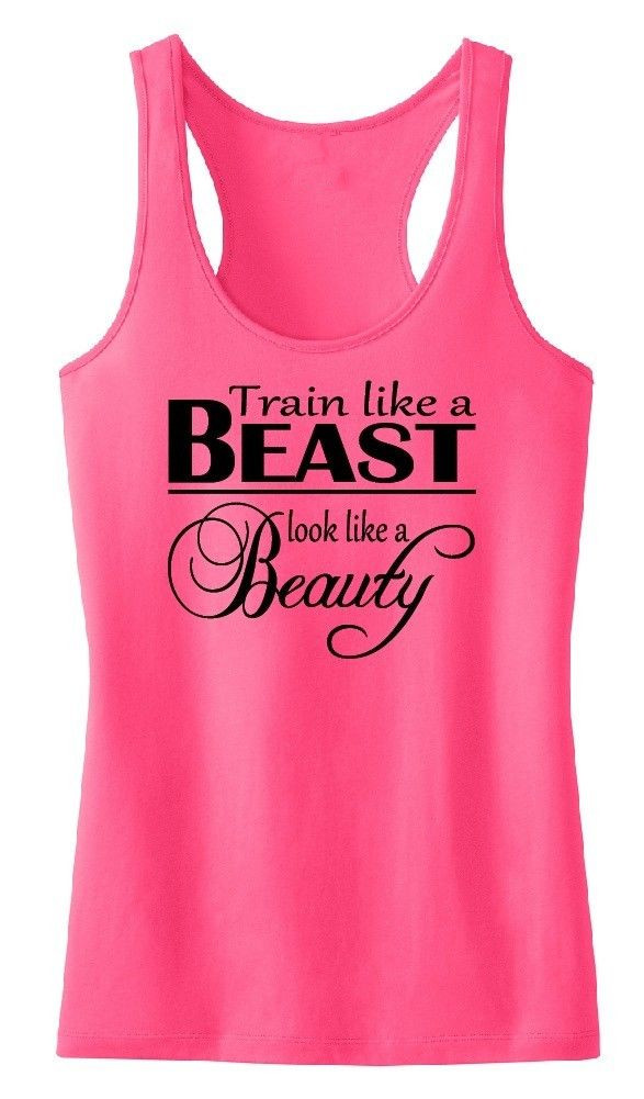 Buy train like a beast tank top tee shirt for Best fitness t shirts